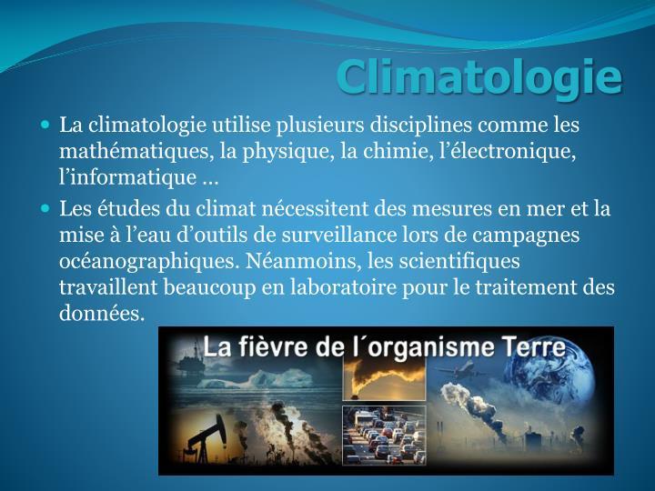 Climatologie