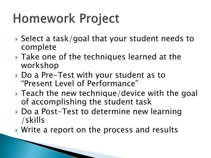 Homework Project