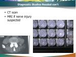 diagnostic studies needed con t