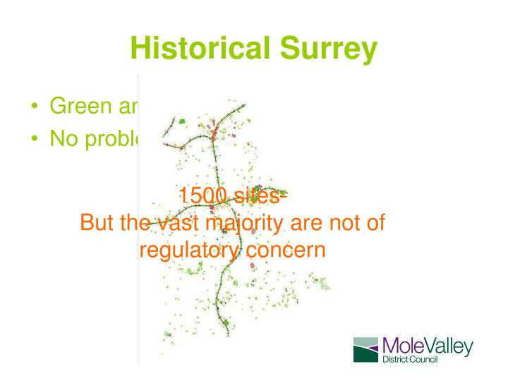 Historical Surrey
