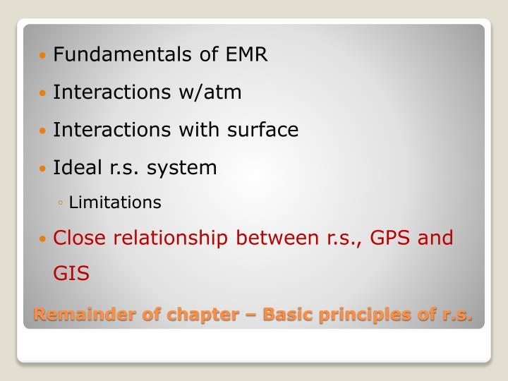 Fundamentals of EMR