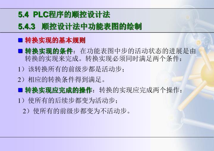 5.4  PLC
