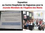 exposition au centre hospitalier de haguenau pour la journ e mondiale de l hygi ne des mains