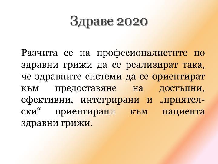 Здраве 2020