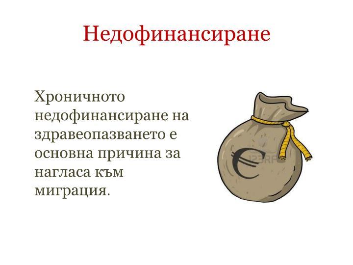 Недофинансиране