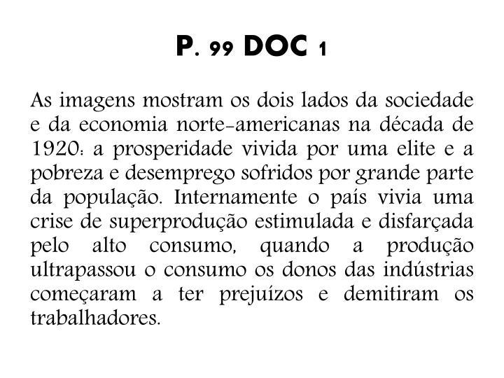 P. 99 DOC 1