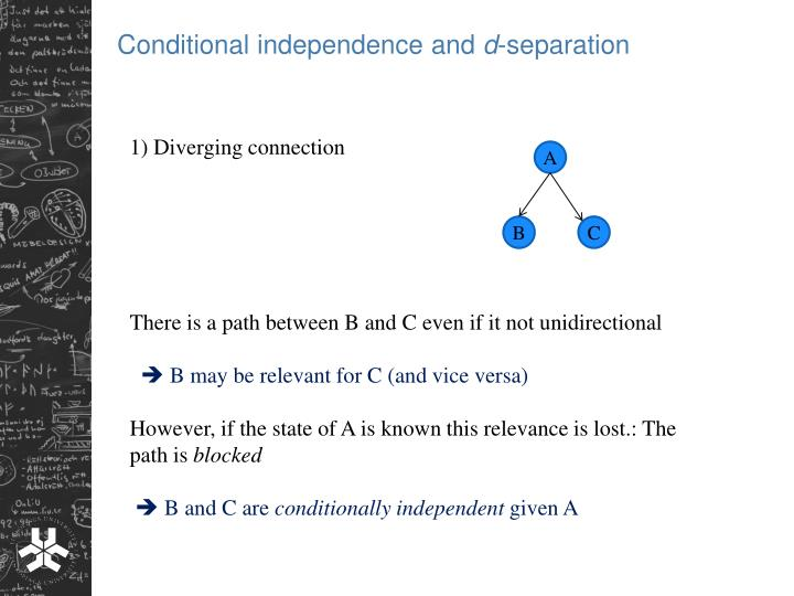 Conditional independence and
