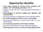 opportunity benefits