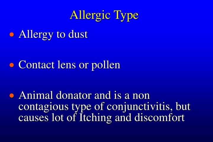 Allergic Type