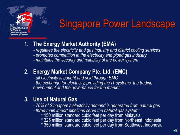 Singapore Power Landscape