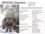heroes detectors