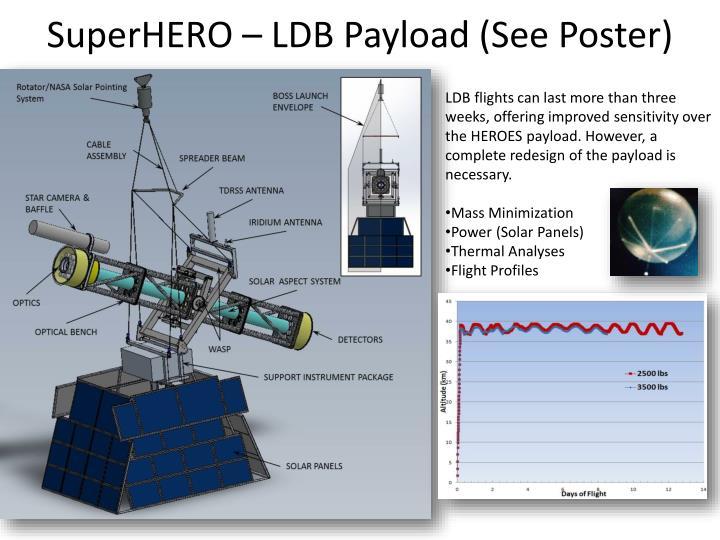 SuperHERO – LDB Payload (See Poster)