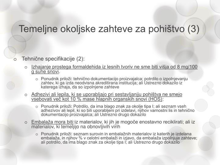 Temeljne okoljske zahteve za pohištvo (3)