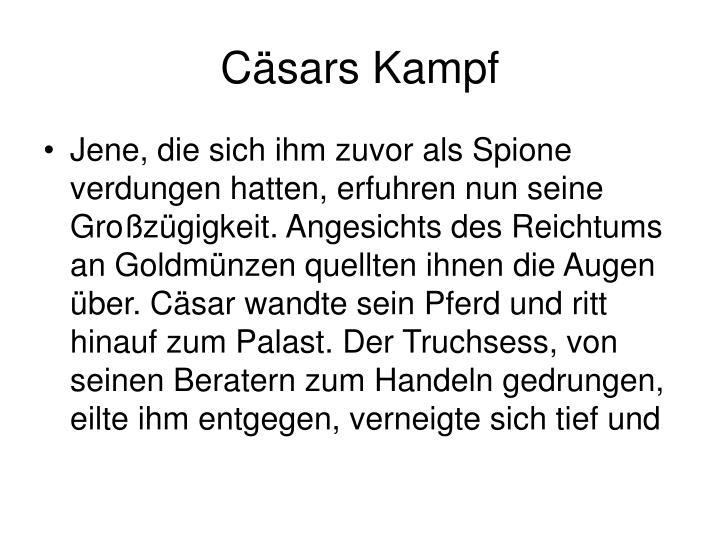 Cäsars Kampf