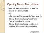 opening files in binary mode