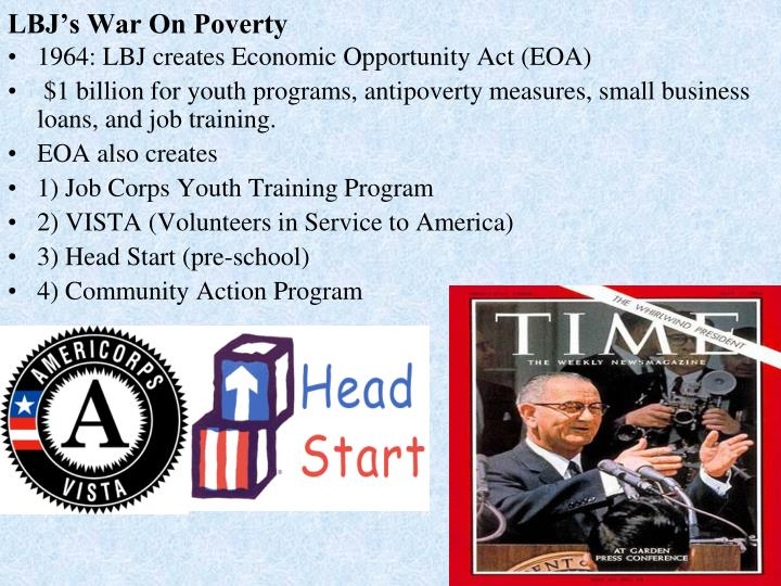 Lbj s war on poverty