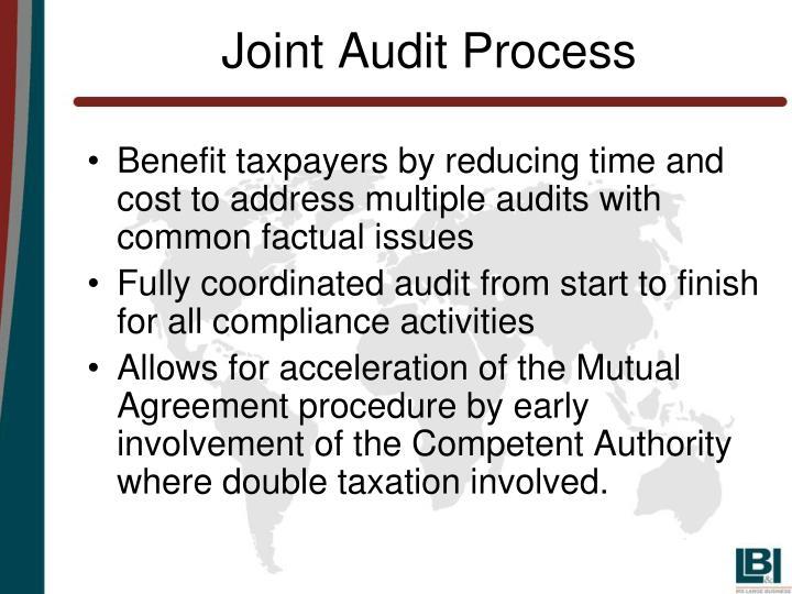 Joint Audit Process