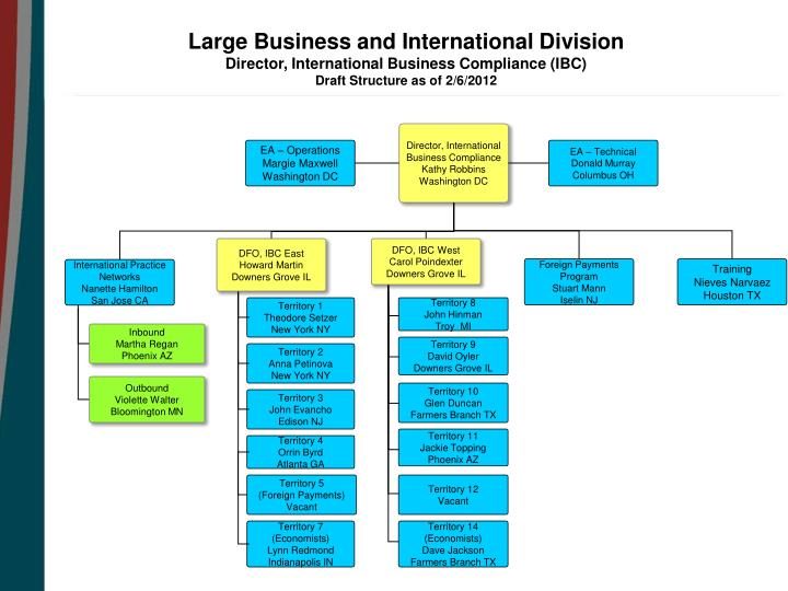 Large Business and International Division