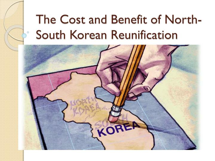 north korea and south korea reunification essay North and south korea have set april 27th as the date of the first summit featuring heads of the chairman of north korea's committee for the peaceful reunification of the country in closing remarks to the first-person essays, features, interviews and q&as about life today.
