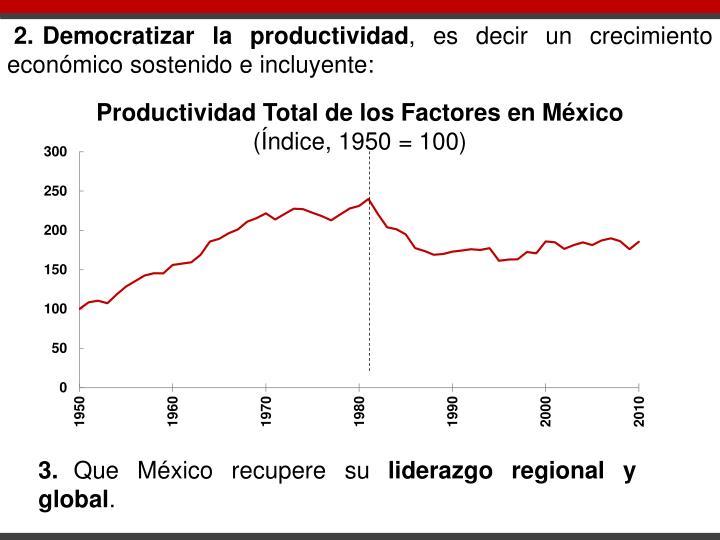 2.Democratizar la productividad