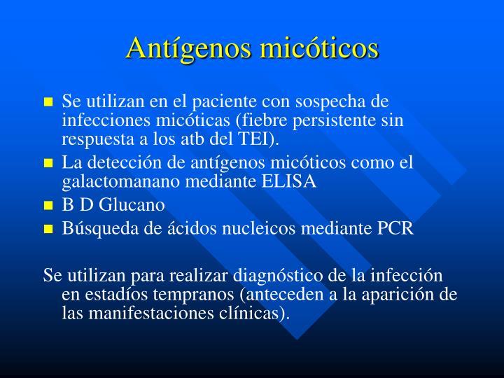 Antígenos micóticos