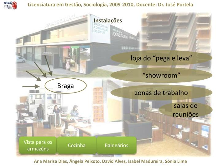 Licenciatura em Gestão, Sociologia, 2009-2010, Docente: Dr. José Portela