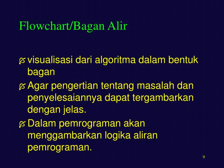 Flowchart/Bagan Alir