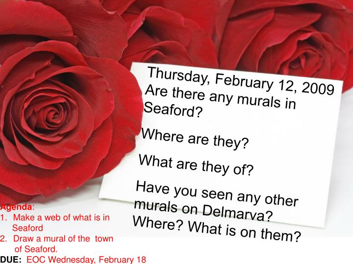 Thursday, February 12, 2009
