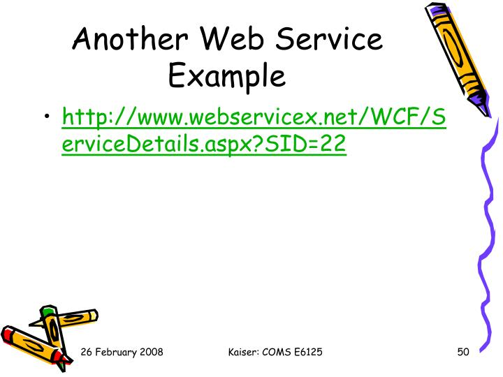 Another Web Service Example