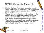 wsdl concrete elements