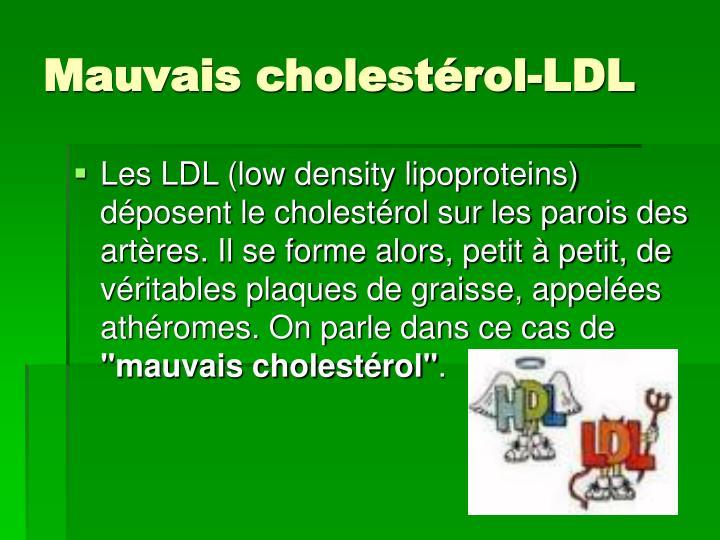 Mauvais cholestérol-LDL
