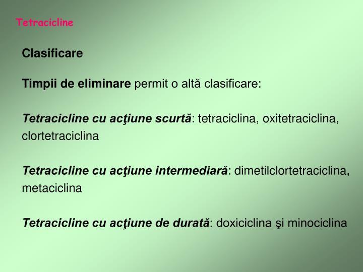 Tetracicline