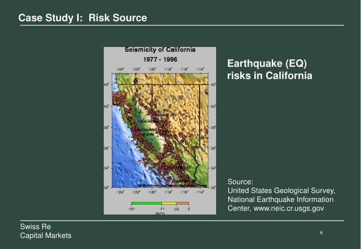 Case Study I:  Risk Source