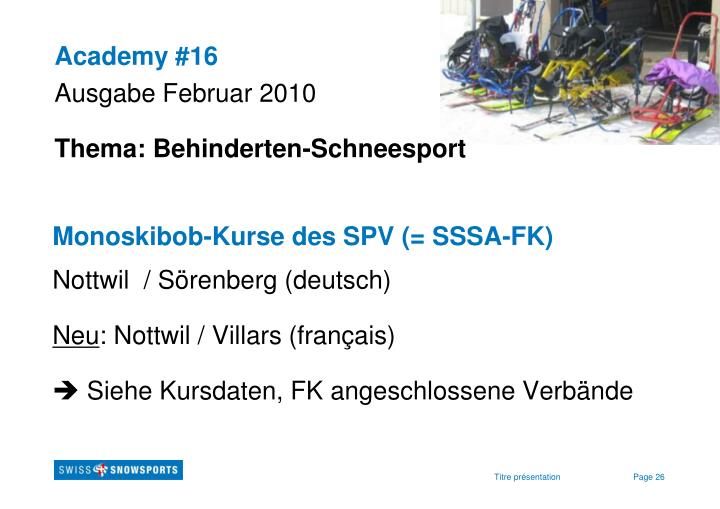 Academy #16