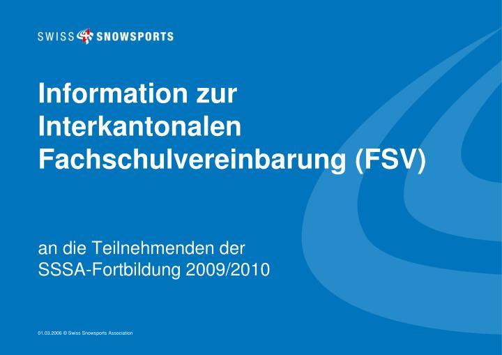Information zur