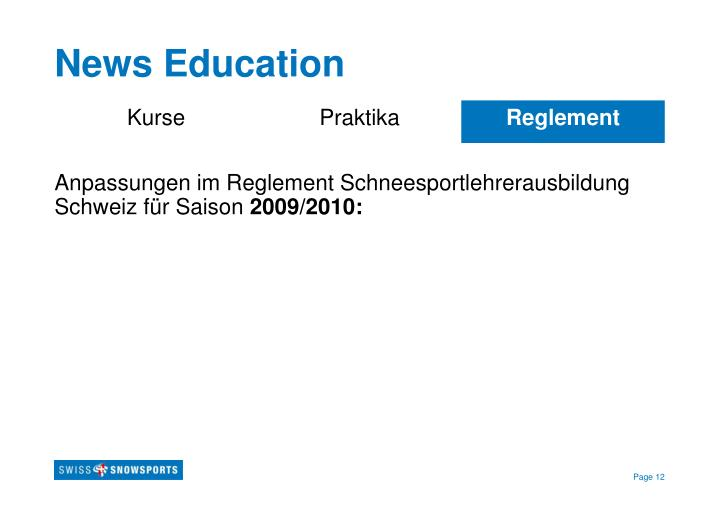News Education
