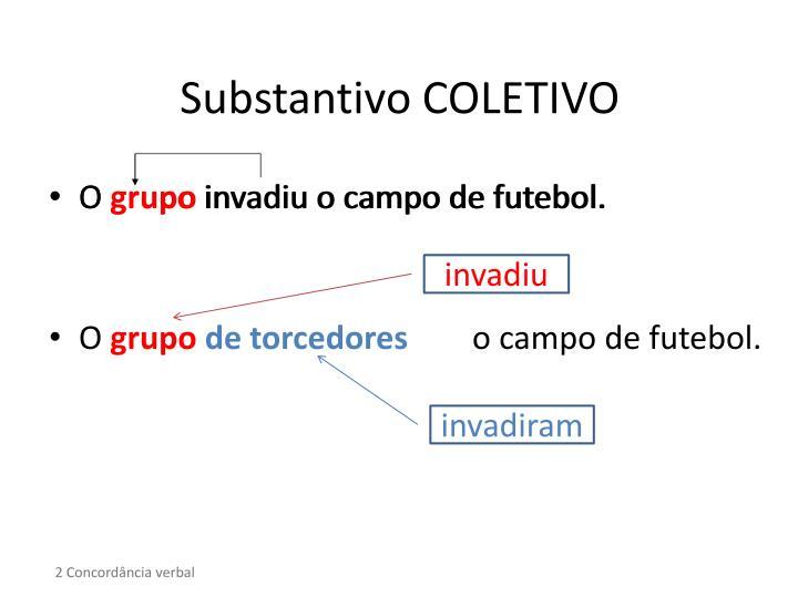 Substantivo COLETIVO