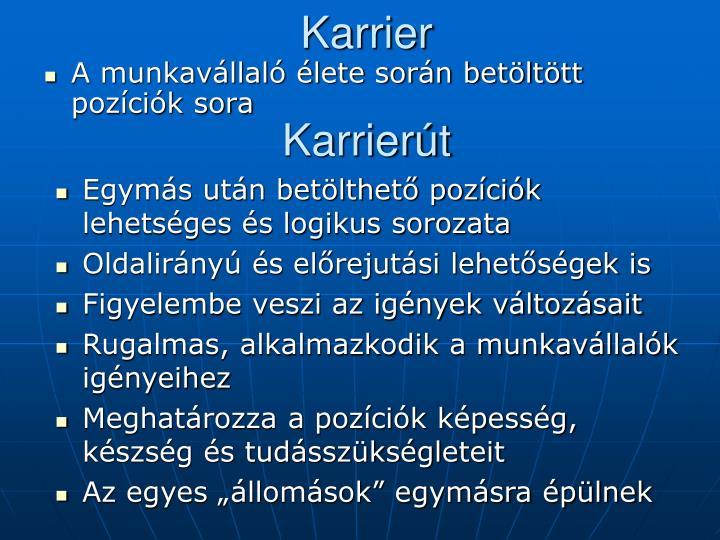 Karrier