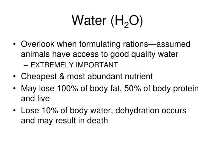 Water (H