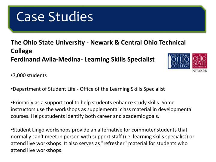 The Ohio State University - Newark & Central Ohio Technical College