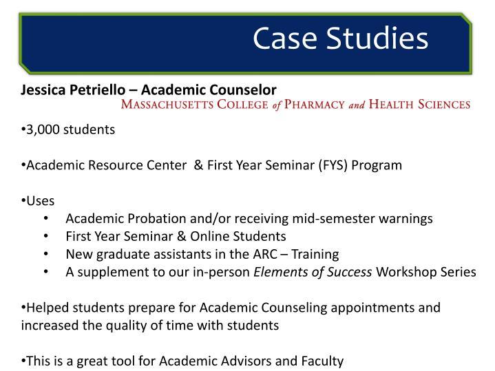 Jessica Petriello – Academic Counselor