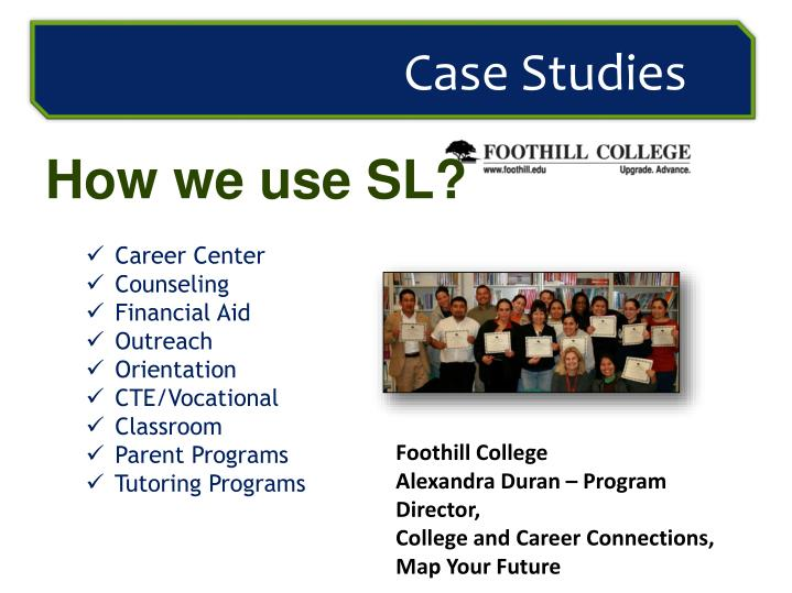 How we use SL?