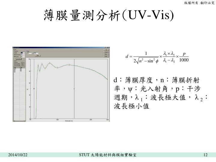 薄膜量測分析