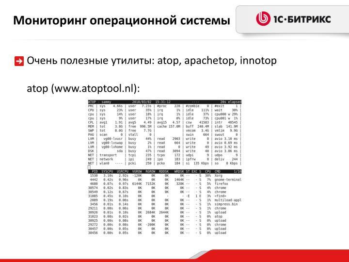 Мониторинг операционной системы