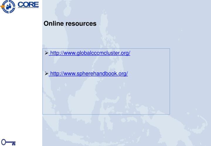 http://www.globalcccmcluster.org/
