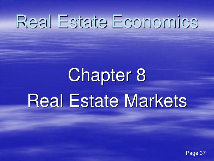 Real Estate Economics : Ppt real estate economics powerpoint presentation id