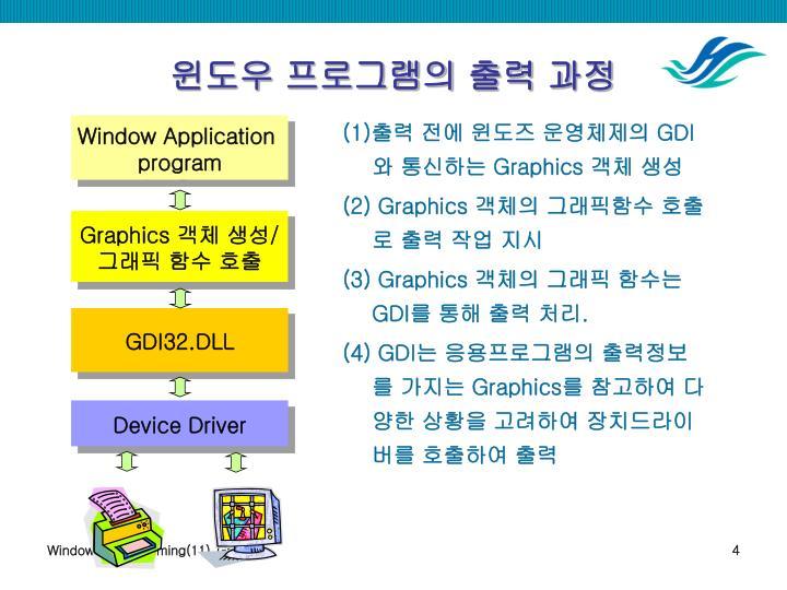 Window Application