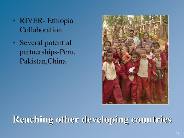 RIVER- Ethiopia Collaboration