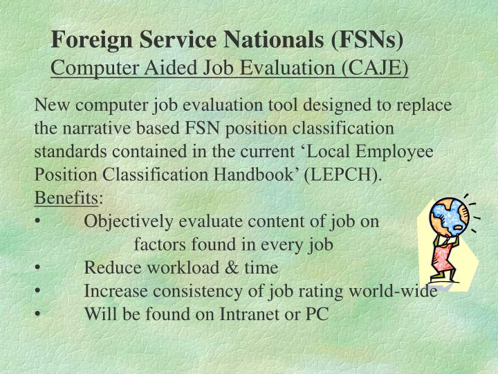 Foreign Service Nationals (FSNs)