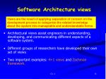 software architecture views1